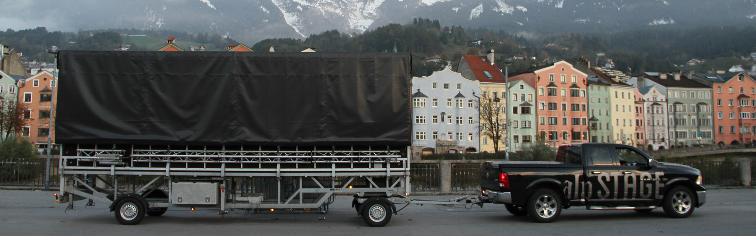 Transport Mobile Buehne Alpstage 5